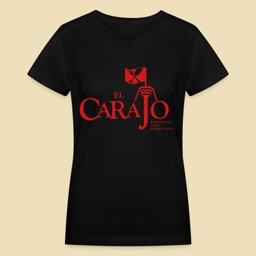 El Carajo Women's Tee - Women's V-Neck T-Shirt