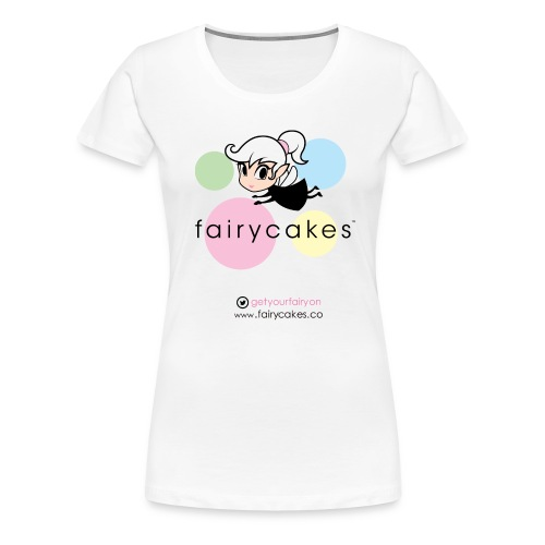 Retro logo white t.png - Women's Premium T-Shirt