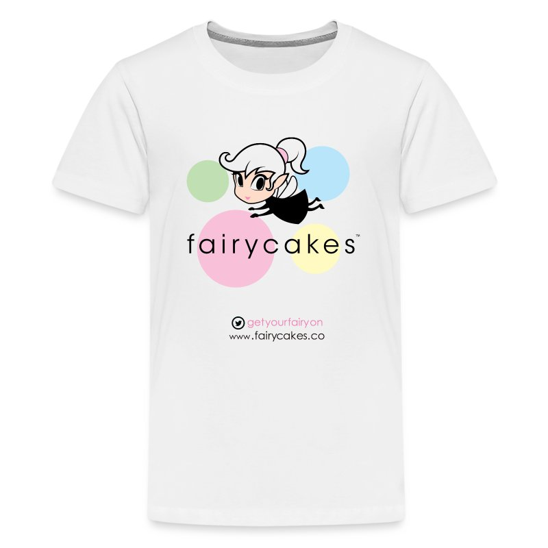 Retro logo white t.png - Kids' Premium T-Shirt
