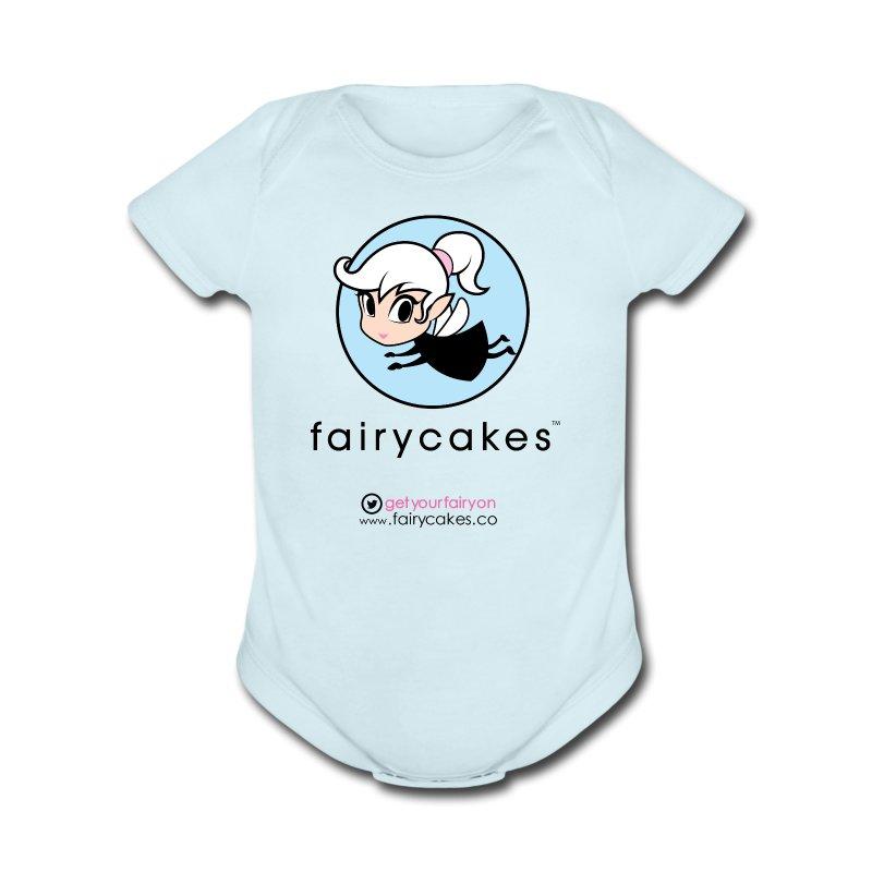 Simple circle logo.png - Short Sleeve Baby Bodysuit