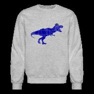 Long Sleeve Shirts ~ Crewneck Sweatshirt ~ North Side T-Rex