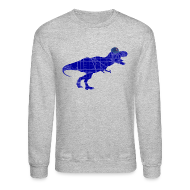 Long Sleeve Shirts ~ Crewneck Sweatshirt ~ North Side T-Rex