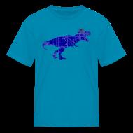 Kids' Shirts ~ Kids' T-Shirt ~ North Side T-Rex