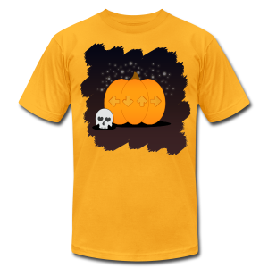 Spoopy Autumn T-Shirt - Men's T-Shirt by American Apparel