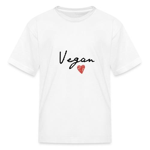 Vegan Heart - Kids' T-Shirt