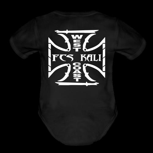Baby FCS Kali West Coast Short Sleeve One Piece - Organic Short Sleeve Baby Bodysuit