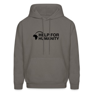 Help for Humanity Charcoal Pullover - Men's Hoodie