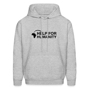 Help for Humanity Grey Pullover - Men's Hoodie