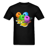 T-Shirts ~ Men's T-Shirt ~ Skateboard wheels