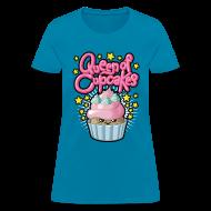 Women's T-Shirts ~ Women's T-Shirt ~ Queen of cupcakes