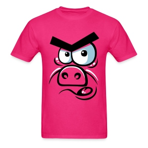 Angry pig - Men's T-Shirt