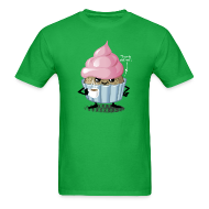 T-Shirts ~ Men's T-Shirt ~ Cup and cake