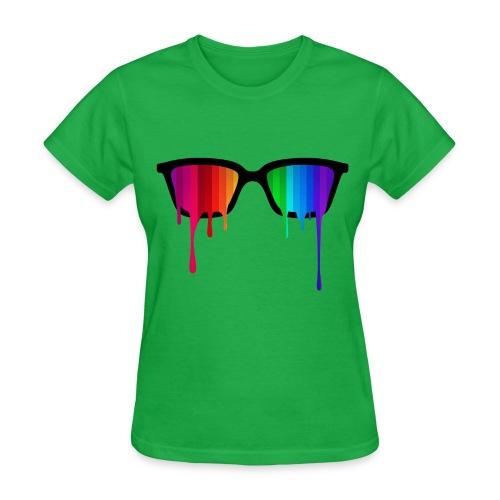 Trippy Goggles - Women's T-Shirt
