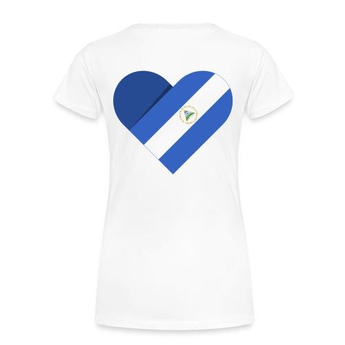 Dreams 2 Acts Women's Heart (color logo) - Women's Premium T-Shirt