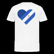 T-Shirts ~ Men's Premium T-Shirt ~ Dreams 2 Acts Men's Heart (color logo)