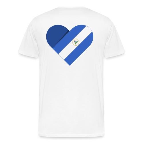 Dreams 2 Acts Men's Heart (color logo) - Men's Premium T-Shirt