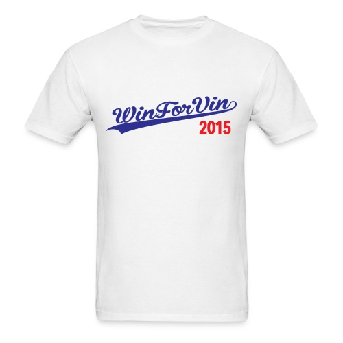WIN FOR VIN - Men's T-Shirt