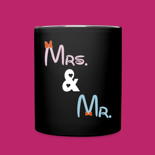 Mrs & Mr Design For Mug - Full Color Mug