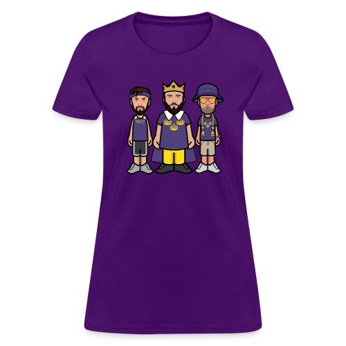 Purple WOOOOO! Tee - Women's T-Shirt