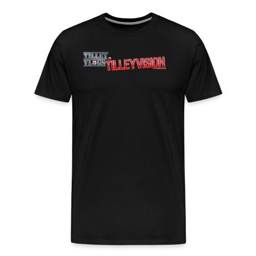 Men's TilleyVlogs Logo Shirt - Men's Premium T-Shirt