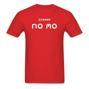 Please No 'Mo - Simple Dudes T - Men's T-Shirt