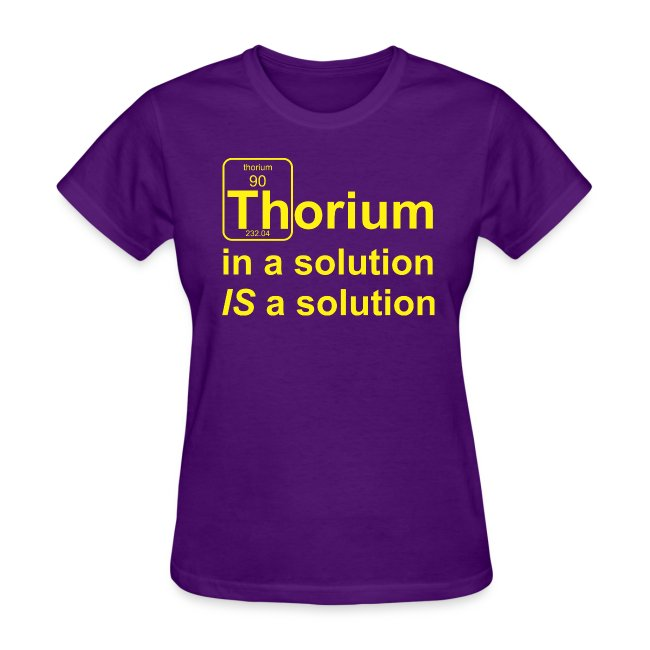 Thorium Solution b f