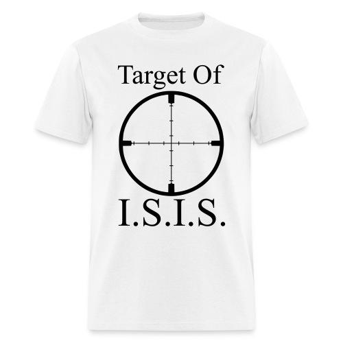 Target of ISIS - Men's - Men's T-Shirt