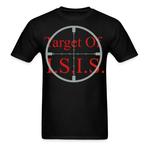 Target of ISIS - Two Tone - Men's - Men's T-Shirt