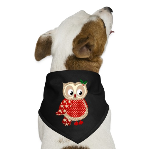 Christmas Owl - Dog Bandana