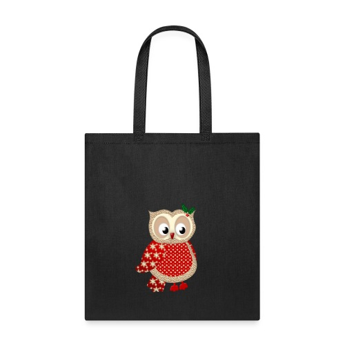 Christmas Owl - Tote Bag