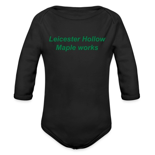 LHMW  - Organic Long Sleeve Baby Bodysuit