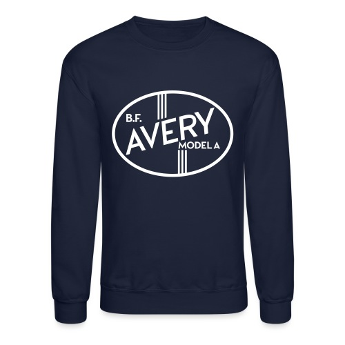B.F. Avery Model A emblem - Crewneck Sweatshirt