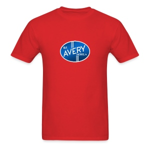 B.F. Avery Model A emblem - Men's T-Shirt
