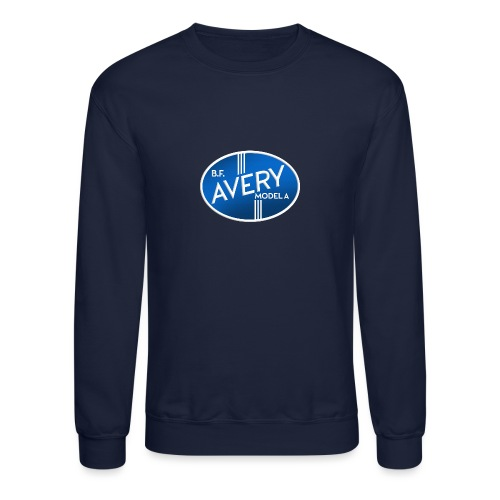 B.F. Avery Model A emblem - Crewneck Sweatshirt