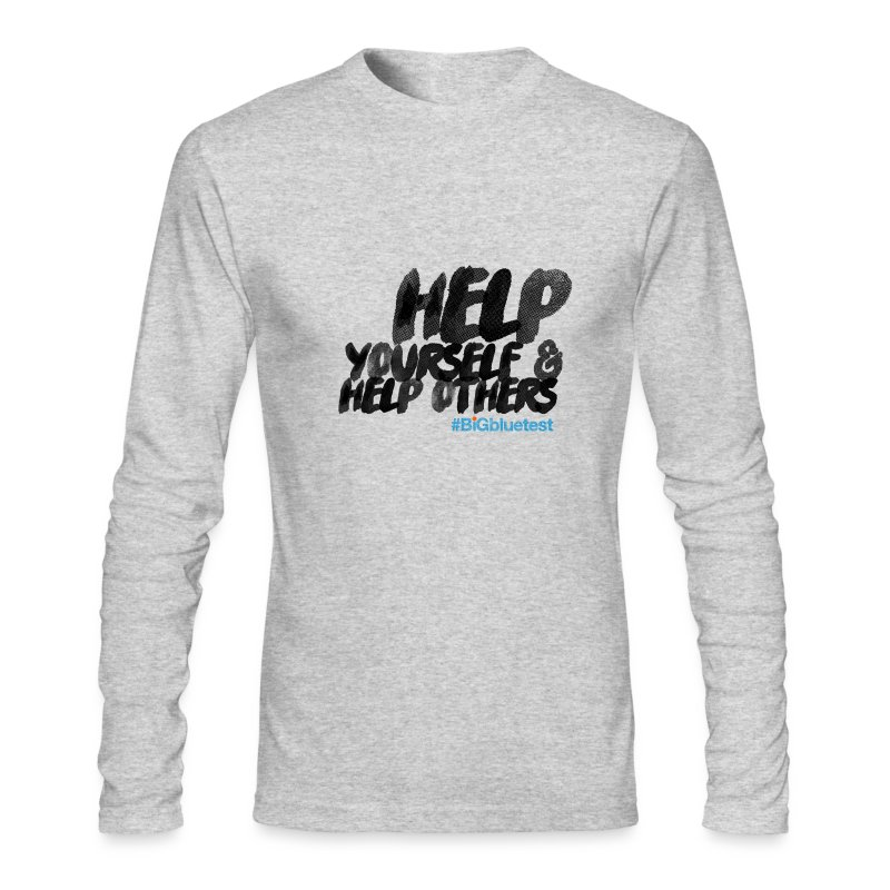 #BigBlueTest 2015 (Long Sleeve) - Men's Long Sleeve T-Shirt by Next Level