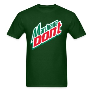 Men's Marijuana Don't - Men's T-Shirt