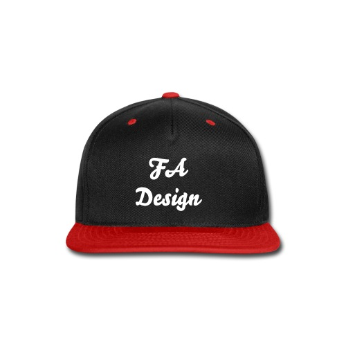 FA Design Snap Back - Snap-back Baseball Cap