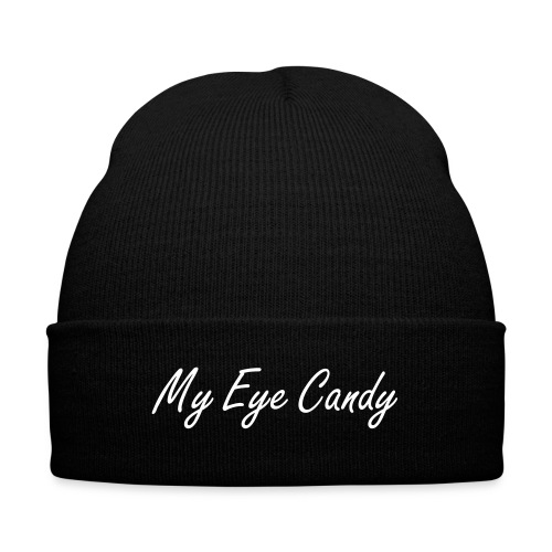 My Eye Candy - Knit Cap - Knit Cap with Cuff Print