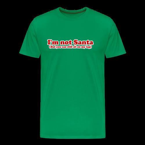 I'm Not Santa Funny Christmas T-shirt - Men's Premium T-Shirt