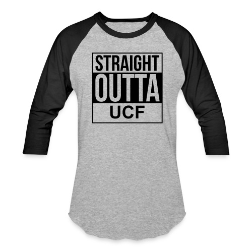 New Slim Fit Baseball Tee Outta UCF - Baseball T-Shirt