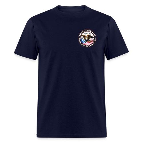 Kicking Crew - Adult w/ Patch - Men's T-Shirt