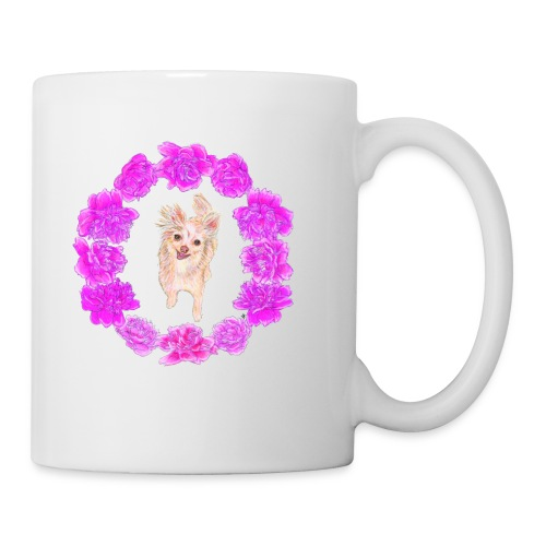 Pixie Peony Mug  - Coffee/Tea Mug