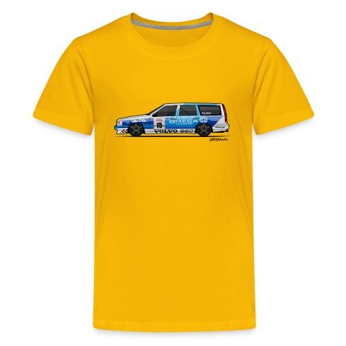BTCC Volvo 850 TWR Wagon Racing - Kids' Premium T-Shirt