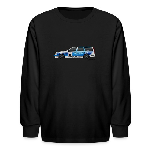 BTCC Volvo 850 TWR Wagon Racing - Kids' Long Sleeve T-Shirt