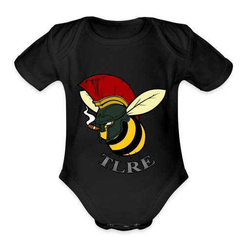 BUMBLE TLRE (baby) - Organic Short Sleeve Baby Bodysuit