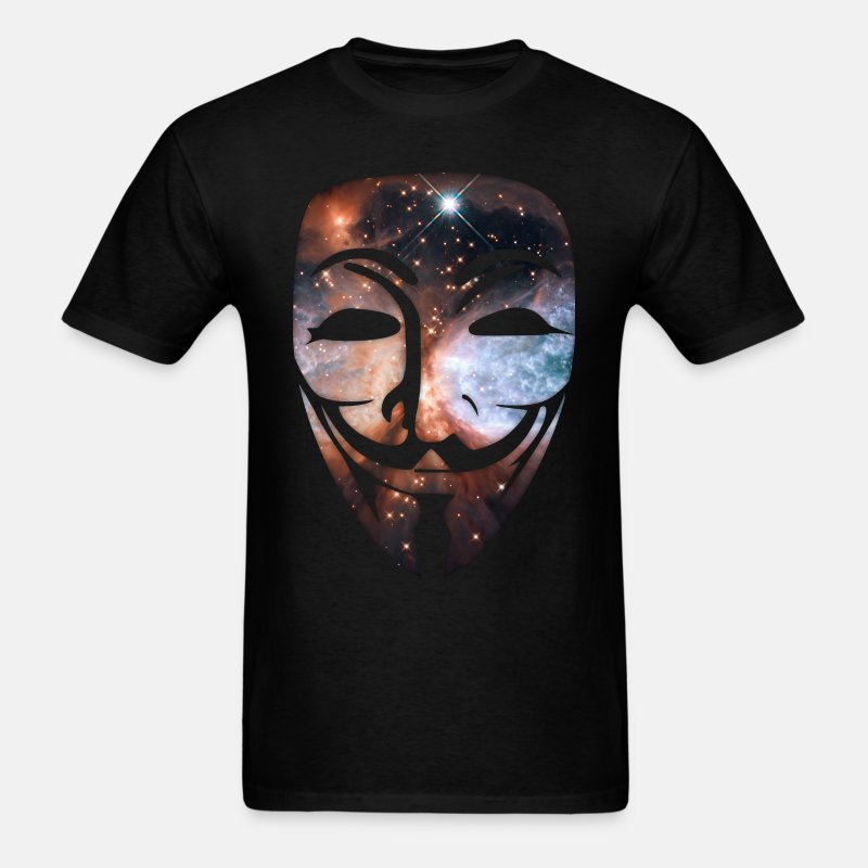 Cosmic Mask - Men's T-Shirt