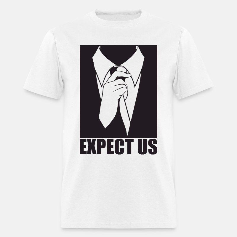 Expect us - Men's T-Shirt