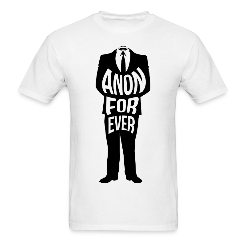 anon forever - Men's T-Shirt