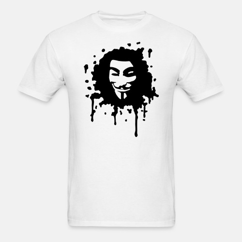 Guy Fawkes, occupy, we are 99%, protest, anarchy, punk revolt, revolution, zeitgeist, banks, Dollar, crisis global economy, wall street, civil, rights, Internet, Anonymus, wutbürger, strike - Men's T-Shirt