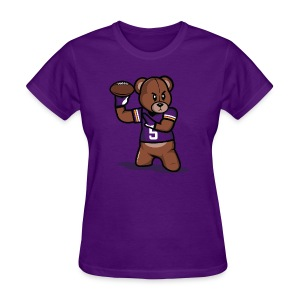 Teddy Football Shirt - Women's T-Shirt